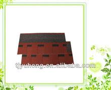 Dimensional asphalt roofing shingles