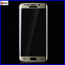 electroplating cell phone screen protector for samsung galaxy s6 edge phone