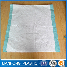 Stripe pp woven shopping bag with die cut,factory export pp woven bag from China,woven pp packaging bag production line.pp sack