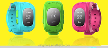Ningmore small sos sms button watch gps tracker for kids person