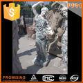 natürliche Gartenanlage stein marmorbüste statue