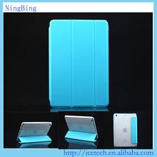 Newest folding flip stand tpu cover for ipad mini 4 case