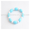 Hot selling multi coloured silicone beads soft beads manufacturer with low price