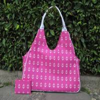 Wholesale Anchor Beach Bag, Large Nautical Bag Pool Bag ,Weekend Tote 2 Piece Set with Free Shipping DOM-105805