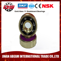 ABEC-9 Skateboard Bearings With Built In Spacers