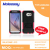 Durable 3 in 1 hybrid case for samsung s6