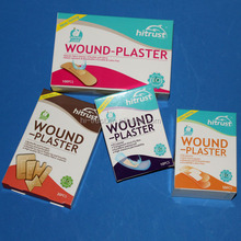 PE PVC Fabric color band aid for wound care