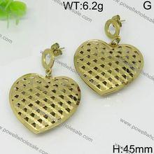 Bali design 14k gold gemstone dangle earrings
