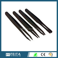 High Quality Cleanroom ESD Conductive Plastic Tweezers For Hand Tools
