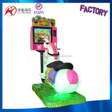 Mini model Go Go Jack horse racing games arcade game machine used kiddie ride