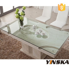 australia vanity white dining table set, natural marble