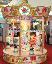 Outdoor Attractions Luxury Carousel for Buyers
