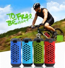 Waterproof mini bicycle bluetooth speakers with10W