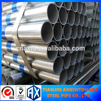 20 inch steel pipe green house hot dipped galvanized steel pipe supply q235 welded galvanized round steel pipe