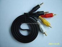 rca plug to stereo / mono plug cable