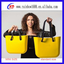 most popular new design custom silicone shopping tote bag