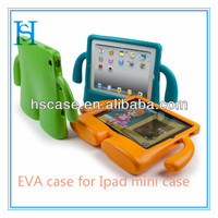 EVA shockproof case for ipad mini stand case cover for children and kids