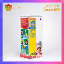 Soft Crease Mark Baby Bottle Clear Plastic Packaging PVC Box