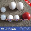 Customized white solid food grade plastic balls