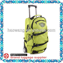 Custom Best Cheap Trolley Backpack With Wheels