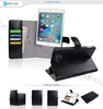 high quality detachable wallet case for ipad mini 4,card slots and cash pocket with stand style,strong magnet and free move
