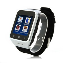 ZGPAX S8 Watch Smartphone MTK6572W Dual Core Android 4.4 3G GPS 512MB 8GB - Silver