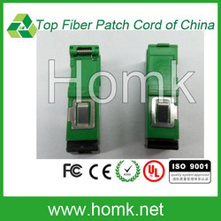 Good price fiber optic SC green color adapter in stock,fiber coupler with high tension