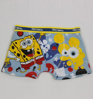 Nice-looking modal colorful pictures of children in underwear with elastic band