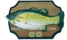 Beautiful Big Mouth Billy Bass Bubba singing and dancing Fish toy