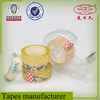 Cheap colored clear adhesive tape for school stationery use