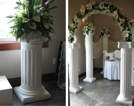 columns for wedding decorating columns for wedding decorating columns