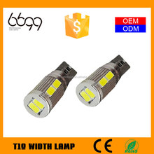 top quality t10 w5w led bulb