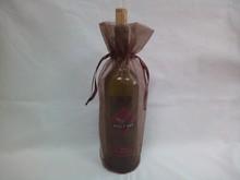 unique design teen favor organza wine bag with string