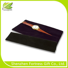 Customized Velvet Pouch Watch Packing Box