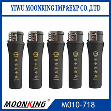 new style plastic material electronic cigarette lighter advertising lighter rubber surface