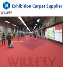 good quality plain-surface exhibition carpet for fairs