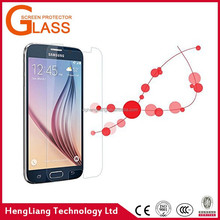2015 hot sale screen protector tempered glass for samsung galaxy s6