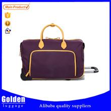Baigou luggage manufacturer sports travel bags high quality nylon trolley bag waterproof women traveling bag