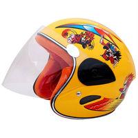 Kids motorcycle open face helmet