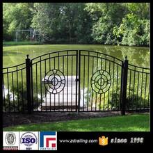 Manufacturer design of school gate, iron swing gate, iron gate door prices