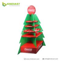 Christmas tree cardboard display stand