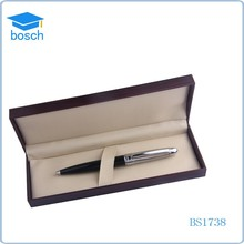 Sliver and black metal pen ball pen for promotional exclusive gift pen set