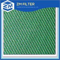 Good air permeability 100% polyester forming mesh fabrics for paper mills