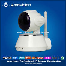 QF510 Pan Tilt IP camera,H.264/Mega Pixel HD/Night Vision/2 Audio