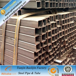 customized 1 inch steel tubing