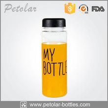 2015 new plastic bottle water my bottle