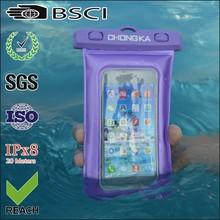 waterproof sport bag for mobile phone with earphone