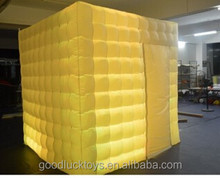 special inflatable photobooth tent style silver rental photo booth cube structure stand inflatable photo booth