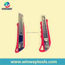 2015 high quality red case art knife