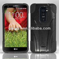 Wholesale Cell Phone Accessory Case Hybrid Hard Case For LG Optimus G2 D801